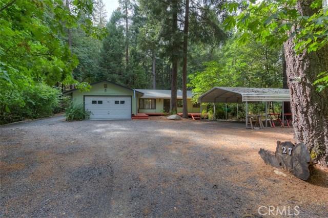 独户住宅 为 销售 在 27 Cedar Lane Berry Creek, 加利福尼亚州 95916 美国