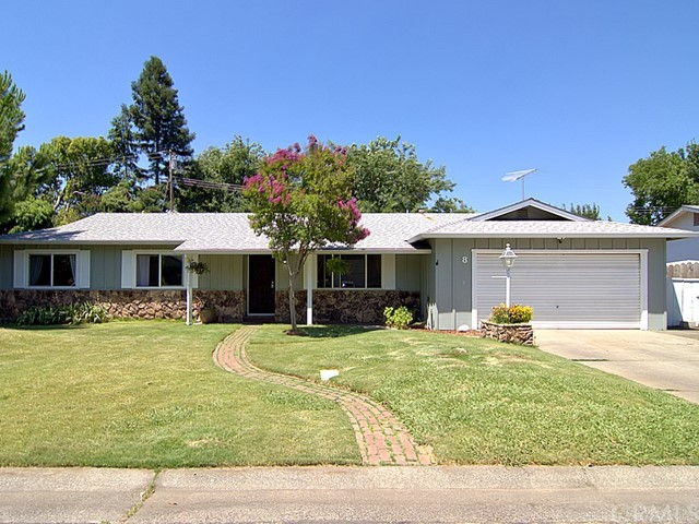 8 Highland Circle Chico, CA 95926 - MLS #: SN18152615