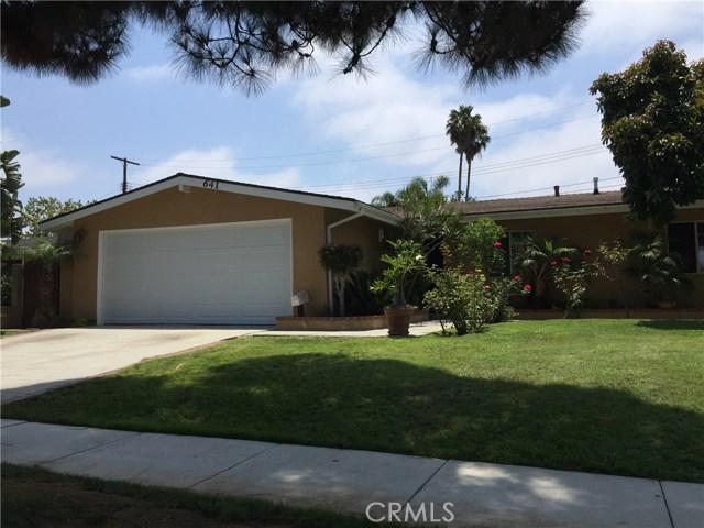 641 Joann Street, Costa Mesa, CA, 92627