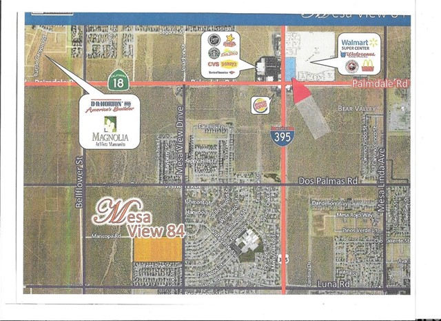 Land for Sale at 0 Mesa View Drive Victorville, California United States