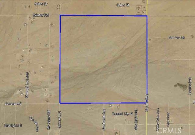 Single Family for Sale at 0 Border Avenue Joshua Tree, California 92252 United States