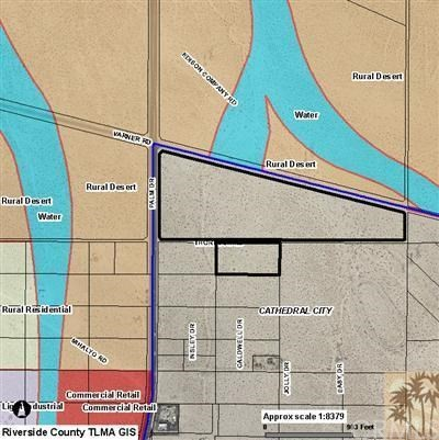 Land for Sale at 40 Acres Palm Drive Desert Hot Springs, 92240 United States