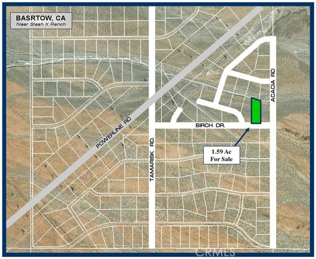 0 Birch Road Barstow, CA 0 - MLS #: SW17239175