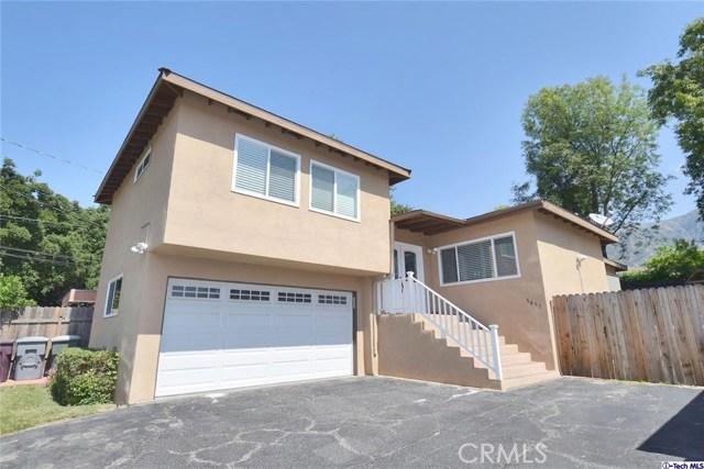 Single Family Home for Sale at 3455 Altura Avenue Glendale, California 91214 United States