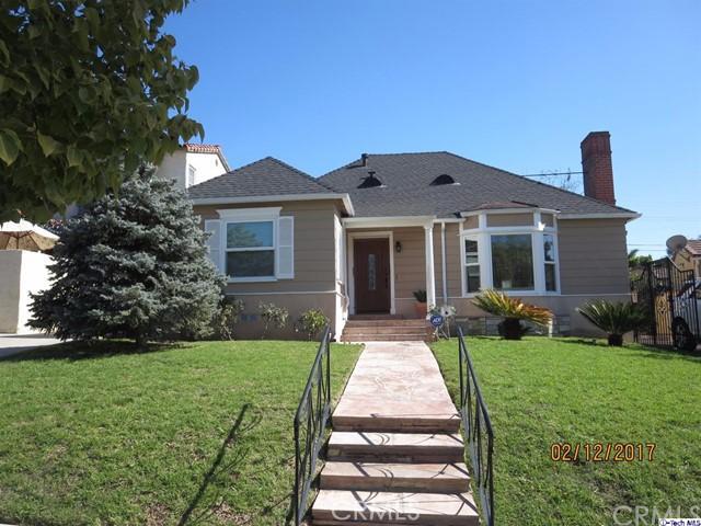 Single Family Home for Rent at 1202 Geneva Street Glendale, California 91207 United States