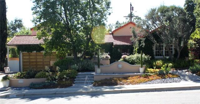 1415 Via Zurita Street, Claremont, CA 91711