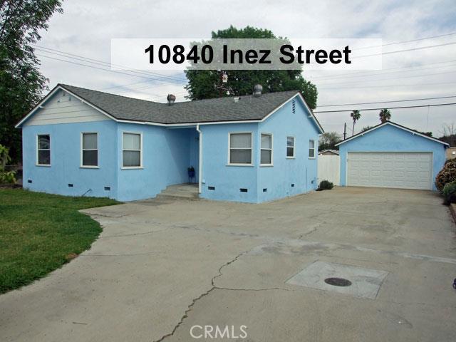 10840 INEZ Street Whittier CA  90605