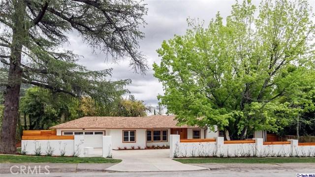 Single Family Home for Sale at 2268 Allen Avenue Altadena, California 91001 United States