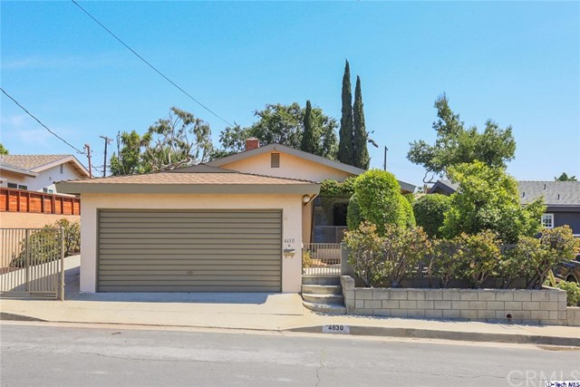 Single Family Home for Sale at 4630 Marwood Drive Glassell Park, California 90065 United States