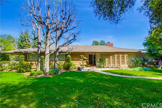 Single Family Home for Sale at 1250 Wynn Road Pasadena, California 91107 United States