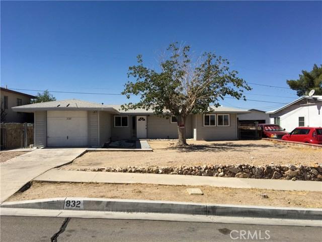 832 S 1st Avenue Barstow, CA 92311 - MLS #: OC18232626