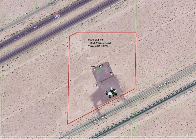 Single Family for Sale at 48066 Yermo Road Yermo, California 92398 United States