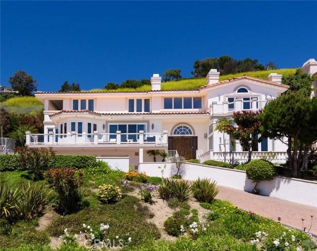 Single Family Home for Sale at 3355 Palo Vista Drive Rancho Palos Verdes, California 90275 United States