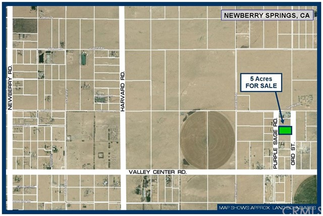 0 Purple Sage Road Newberry Springs, CA 0 - MLS #: SW18171316