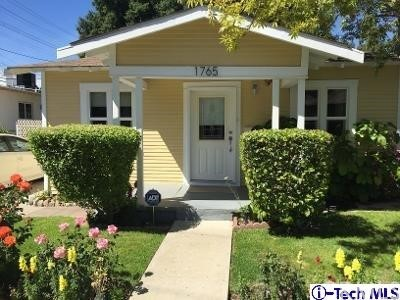 Single Family Home for Sale at 1765 Fern Lane Glendale, California 91208 United States