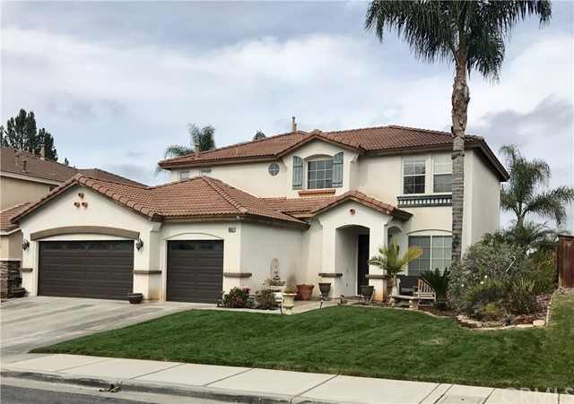 Single Family Home for Sale at 19537 Mt. Wasatch Drive Riverside, California 92508 United States