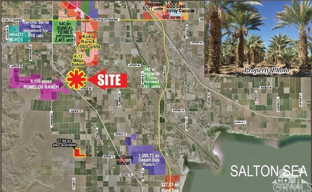 Land for Sale at 67950 Hwy 86 67950 Hwy 86 Thermal, California 92274 United States
