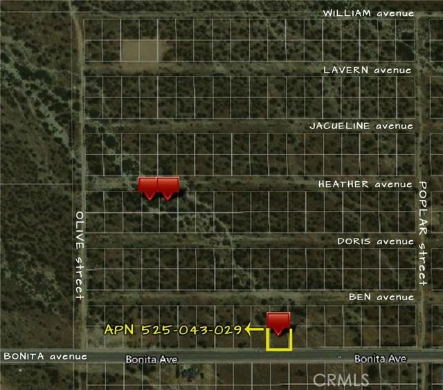 5254329 Bonita Avenue Cabazon, CA 0 - MLS #: SW18005113