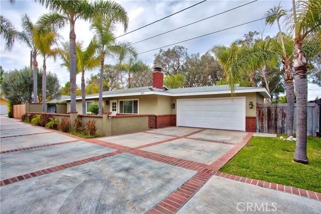 Single Family Home for Sale at 271 Monte Vista Avenue Costa Mesa, California 92627 United States