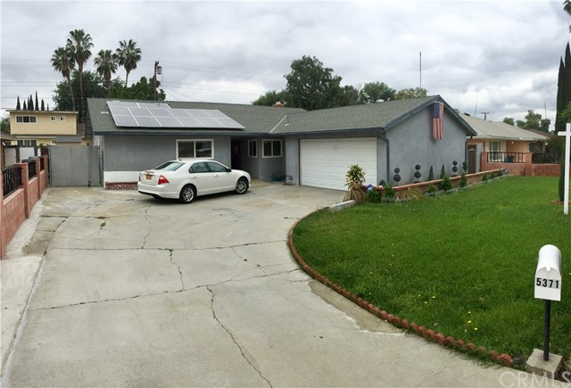 Single Family Home for Sale at 5371 Lantana Street Riverside, California 92504 United States