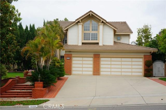 Single Family Home for Sale at 16519 Blackburn Drive La Mirada, California 90638 United States