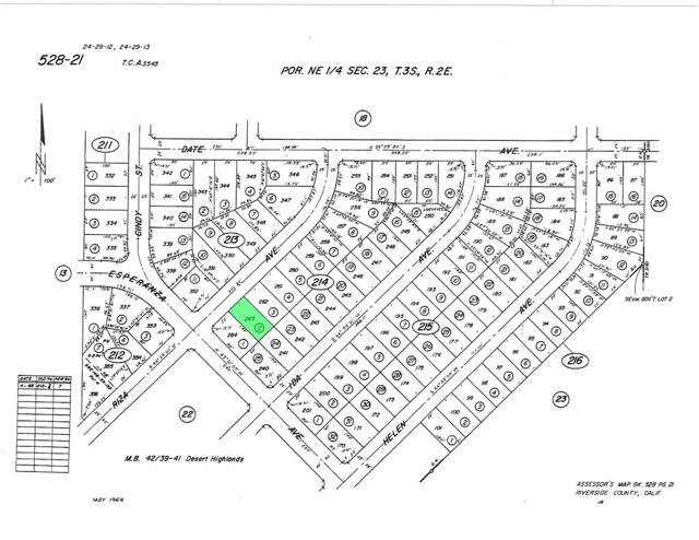 0 Riza Avenue Cabazon, CA 92230 - MLS #: EV16089118
