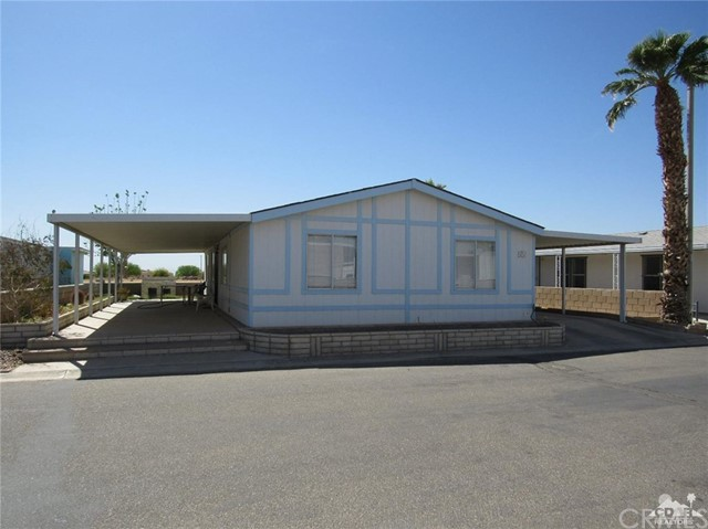 3589 Wells Road Unit 44 Blythe, CA 92225 - MLS #: 218012926DA