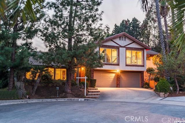 Single Family Home for Sale at 900 Whitehaven Terrace 900 Whitehaven Terrace Glendale, California 91207 United States