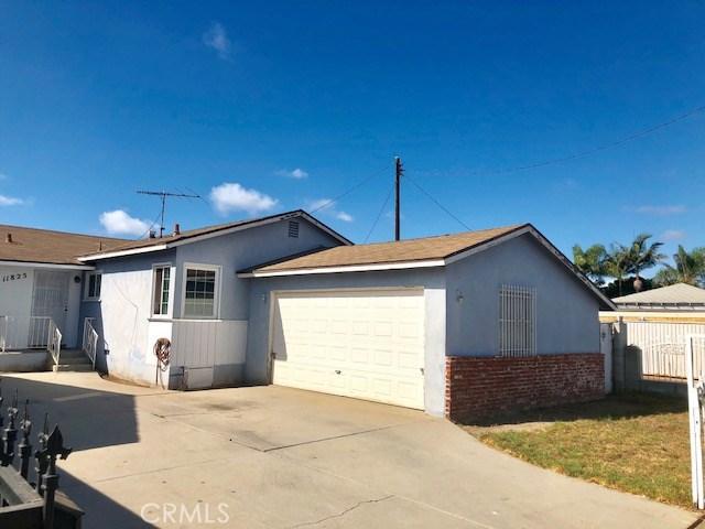 11825 Menlo Avenue  Hawthorne CA 90250