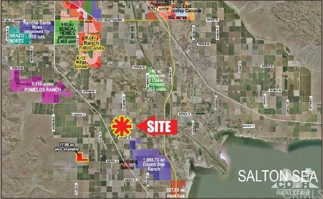 Land for Sale at 109.15 Ac Harrison St. 109.15 Ac Harrison St. Thermal, California 92274 United States