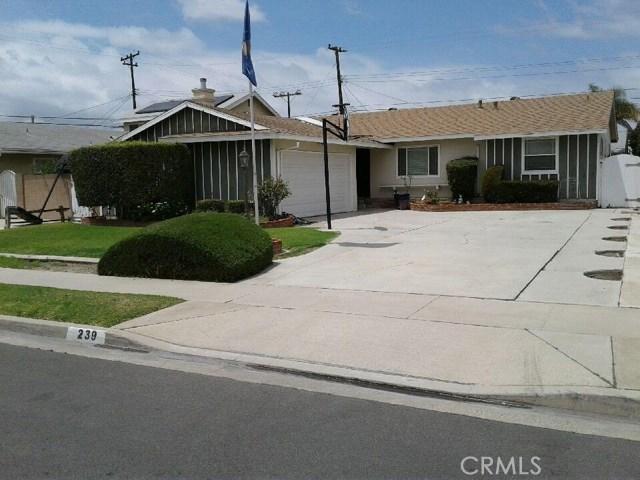 239 Agate Street, Anaheim, CA, 92804