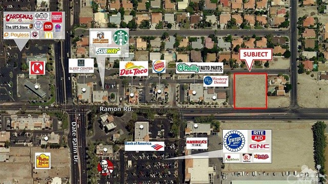 Land for Sale at Ramon Road Ramon Road Cathedral City, California 92234 United States