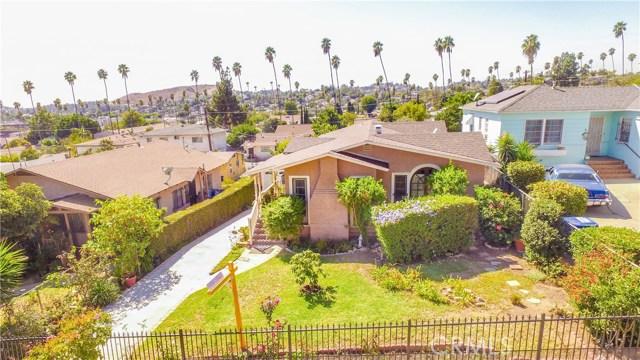 独户住宅 为 销售 在 3921 Tampico Avenue El Sereno, 90032 美国