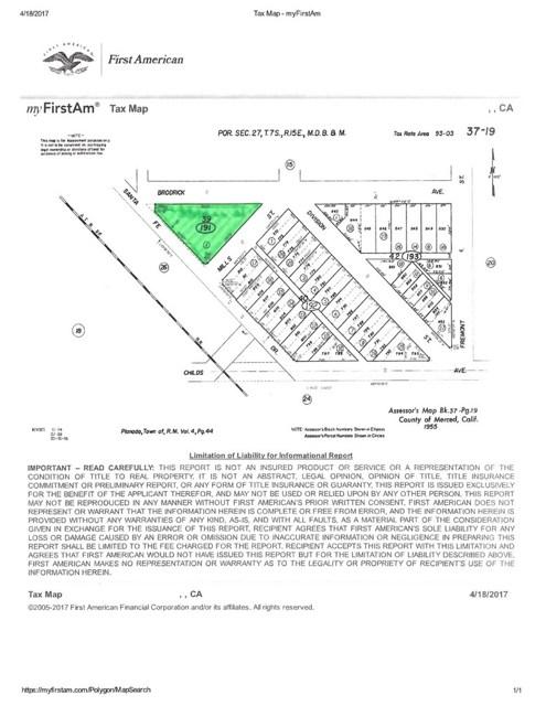 Single Family for Sale at 0 Sante Fe Planada, California United States