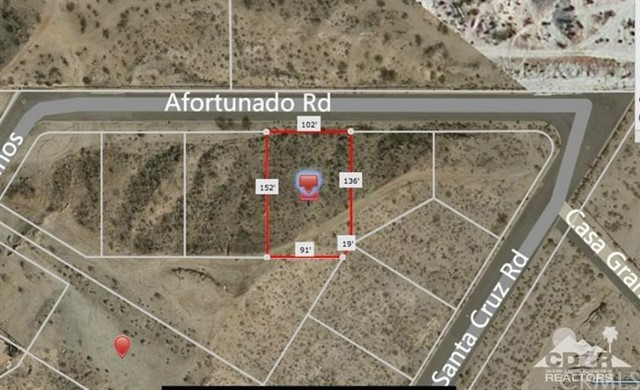 Photo of home for sale at Vac Lot Afortunado, Desert Hot Springs CA