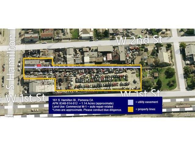 Single Family for Sale at 161 Hamilton Boulevard S Pomona, California 91766 United States