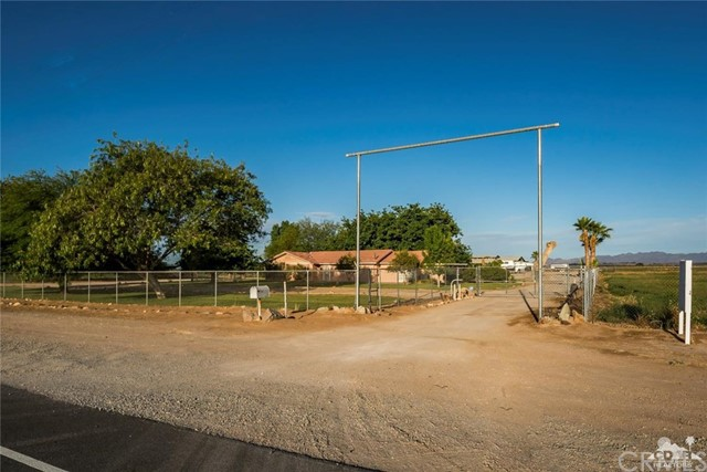 Single Family Home for Sale at 4251 Intake Boulevard Blythe, California 92225 United States