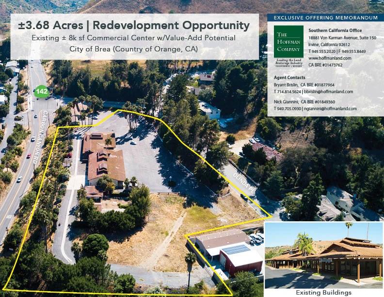 Retail for Sale at 160 Olinda Drive Brea, California 92823 United States