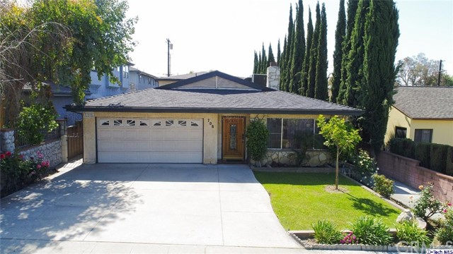 708 E Magnolia Boulev Burbank, CA 91501 is listed for sale as MLS Listing 317003387