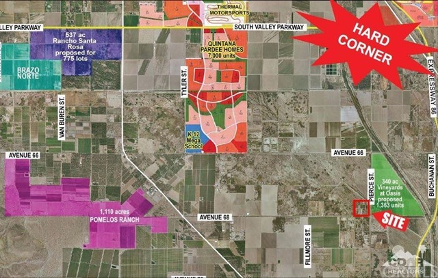 Single Family for Sale at 67667 38.84 Ac, Nwc Ave. 68 & Pierce Street Mecca, California 92254 United States