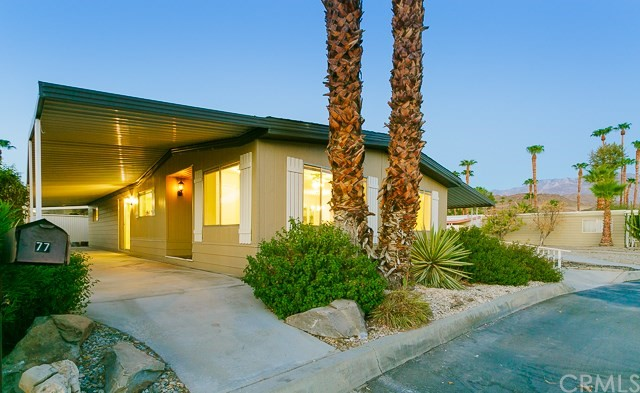 77 Desert Rose Drive Palm Springs, CA 92264 is listed for sale as MLS Listing IG16739598