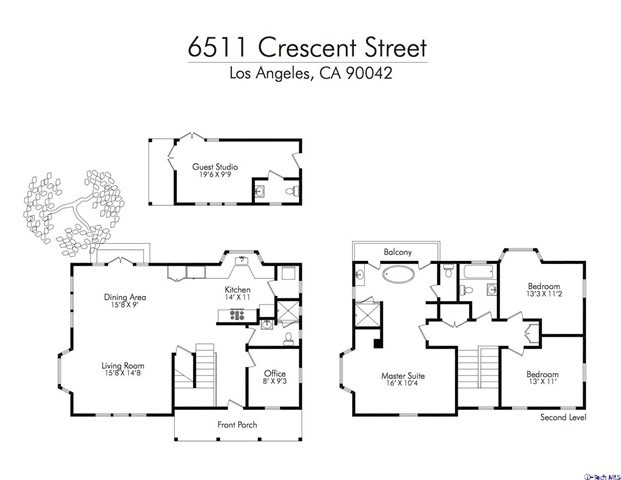 6511 E Crescent Street Los Angeles, CA 90042 - MLS #: 318003608