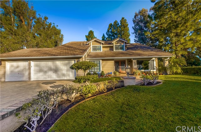 One of Anaheim Hills 4 Bedroom Homes for Sale at 6121 E Via Sabia