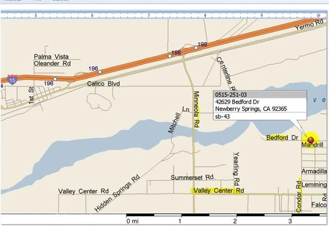 42629 Bedford Drive Newberry Springs, CA 92365 - MLS #: DW17255106
