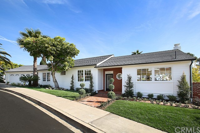 Single Family Home for Sale at 515 Poplar Street Laguna Beach, California 92651 United States
