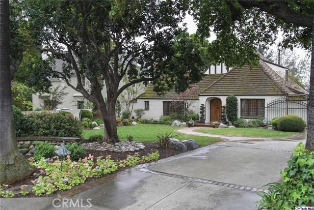 Single Family Home for Sale at 1494 Braeburn Road Altadena, California 91001 United States