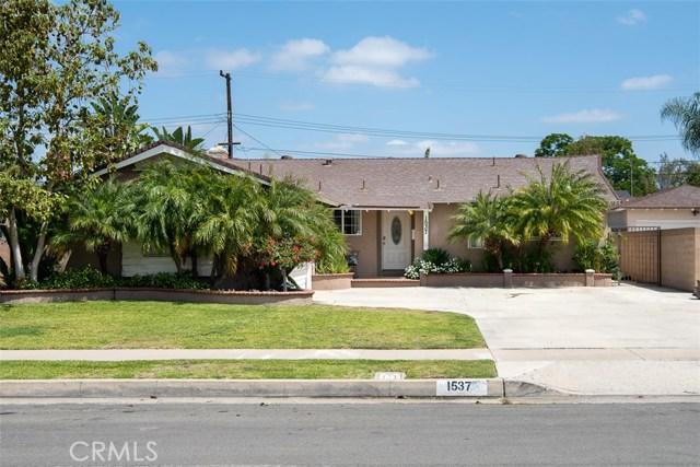 1537 W Harriet Ln, Anaheim, CA 92802 Photo 1
