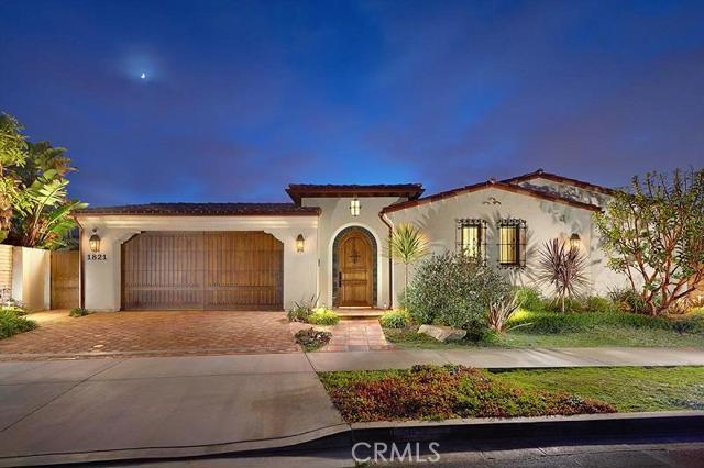 Single Family Home for Sale at 1821 Galatea St Corona Del Mar, California 92625 United States