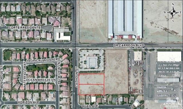 Photo of home for sale at 1 .5 Calhoun/Dr. Carreon Blvd, Indio CA