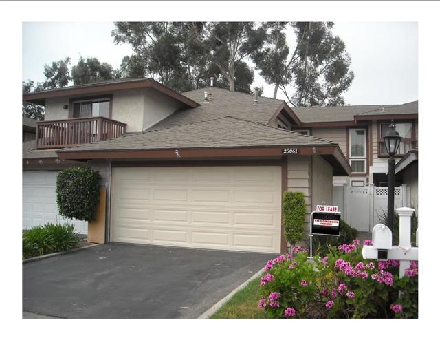 Townhouse for Rent at 25061 Acacia St Laguna Hills, California 92653 United States